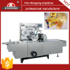 Automatic film overwrapping machine