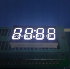"""Ультра белый 4 цифры 0,36 """"общий анод 7 сегментный светодиодный дисплей часов для таймера stb / печь"""