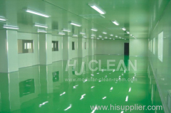 Pharmaceutical cleanroom turn key project