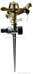360 degree Zinc Alloy Agricultural Irrigation Sprinkler with Tripod