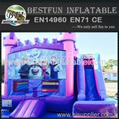 5 in 1 frozen bounce house