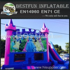 5 in 1 bounce house princess castle