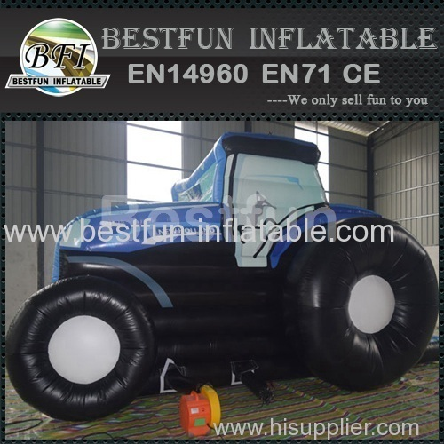 Tractor inflatable bounce house