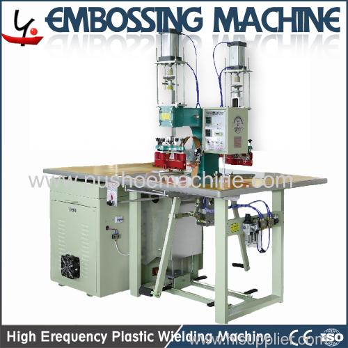 plastic embossing machine new