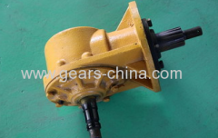 Farm machinery agricultural bevel gearbox for agriculture