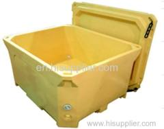 600liter sea food fresh food insulation container