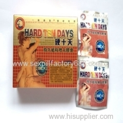 good price hard ten days sexual penis medicine adult products