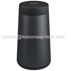 New Bose SoundLink Revolve Water-Resistant Portable Bluetooth Speakers Triple Black With Built-in Speakerphone