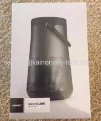 Bose SoundLink Revolve Plus Splashproof Bluetooth NFC Wireless Portable Speakers Black With Omni Directional Sound