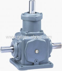 K bevel helical gearbox for agricultural machinery