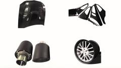 Carbon Fiber Automobile Parts