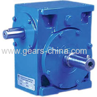 T series gearbox right angle agricultural bevel gearbox