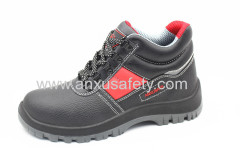 AX16031 second layer leather safety shoes