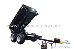 1.5T hydraulic tipping ATV towable Trailer; Farm Trailer;Uility Trailer