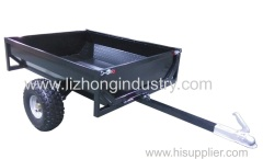 Completely welded Powder coated plate atv trailer.box traile.single axle trailer