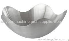 Stainless Steel Lotus Shape Serving Fruit Bowl