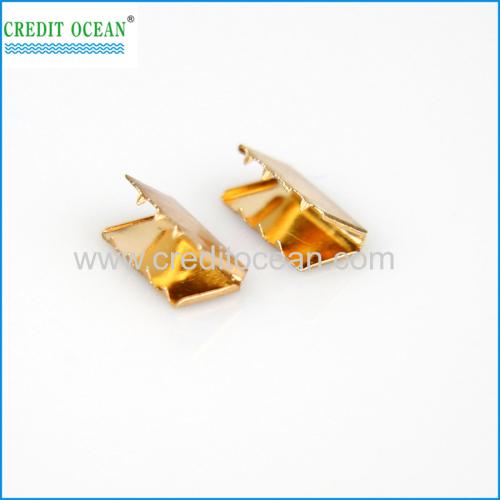 Credit Ocean OC metal belt end tips silver end clips