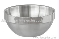 stainless steel Deep Mixing Bowl clear Salad Bowl stainless steel salad bowl