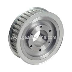 Timing pulley HTD 26-3M-15 Aluminium. with flange Z=26
