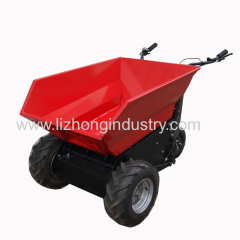 1100W 500KGS self dumper electric mini dumper truck