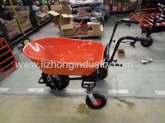 250W 120kgs Belastbarkeit elektrische barrow.wheel barrow.electric Radkarre