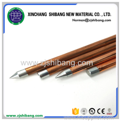 Copper Internal Threaded Earthing Rod