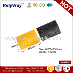 100% Recycled Rubber Speed Hump