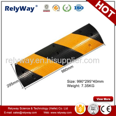 Reflective Rubber Speed Bump