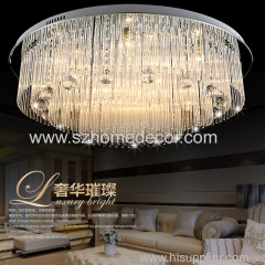Modern designer favorite large big crystal chandelier lighting made in China