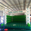 Customed logo commercial inflatable bounce house