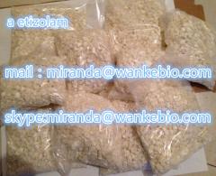 Aa Etizolam e-tizolam 40054-69-1 C17H15ClN4S mail/skype miranda at wankebio com