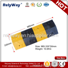 Reflective Rubber Speed Ramp