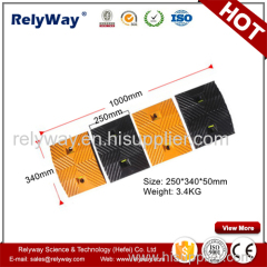 Roadway Safety Rubber Speed Ramp