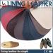 footwear leather PU shoe lining leather