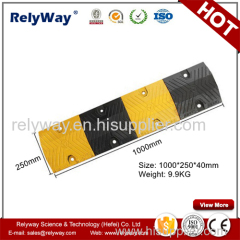 Reflective Cast Steel Speed Bump