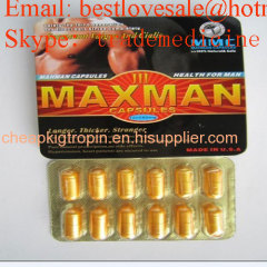 Maxman III Gélules sexuelles Hebal médicament sexuel produit sexuel Sex Pills Male Enhancement Viagra Male