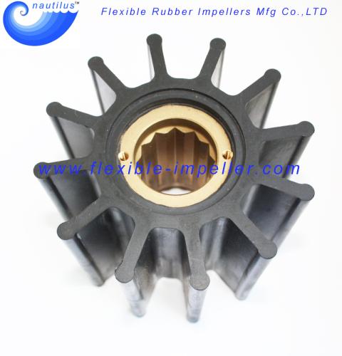 Raw Water Pump Flexible Rubber Impeller Replace Jabsco Impeller 836-0001
