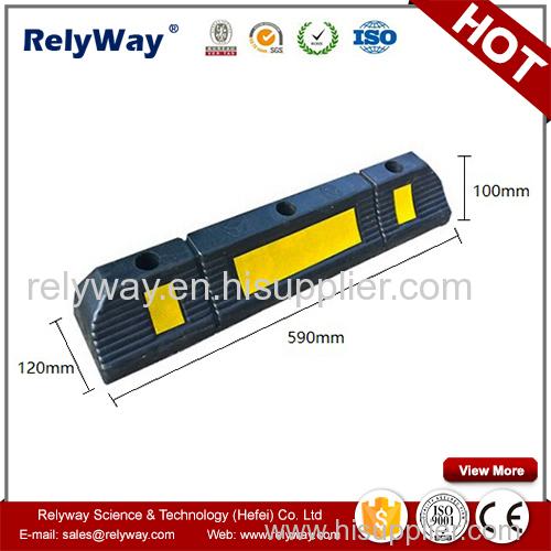 Heavy Duty Rubber Wheel Stopper