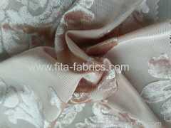 polyester burn out velvet fabric