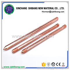 Copper Earth Wire Ground Rod