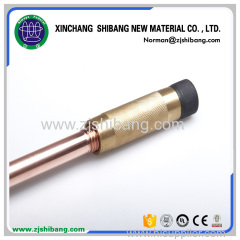 Copper Bonded One-sided Pointed Ground Rod Earthing For House