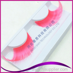 Colorful Artificial Eyelash with Hot Sale Party False Eyelashes