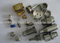 custom machined parts form metal rapid prototyping