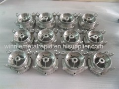 custom machined parts made in metal rapid prototyping manufacturing