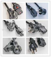 UL Approval US Standard AC Power Cord NEMA 1 - 15P
