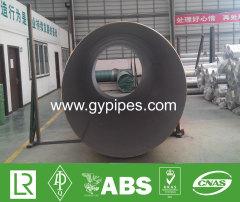2205 Material Duplex Tubo de acero Prueba hidráulica