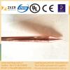 copper clad especially sharp earth rod
