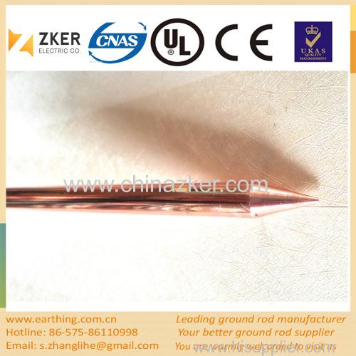 copper weld especially sharp ground rod