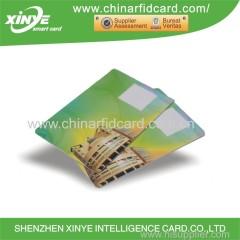 TK4100 Carte de RFID intelligente à proximité de PVC LF 125KHz avec numéro 8H10D + WEG24A