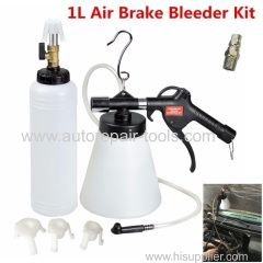 1L Air Brake Oil Bleeder Kit Pneumatic Clutch Vacuum Hydraulic Fluid Fill Bottle